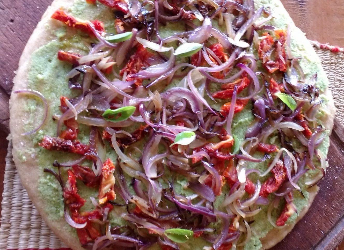 Pizza ai broccoli - vidagaia